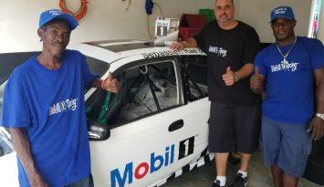 IMCA Jamaica sponsors RaceCar Driver Sebastian Rae to promote Mobil 1 Lubricants.