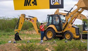 IMCA Jamaica launched the Cat 426F2 BHL and 320 Next Generation Excavator.